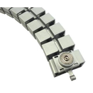 Kabelspirale und 2 Magnete zur Befestigung, 23 Kettenglieder