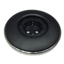 IRIS80 - Schuko (B-1P) schwarz matt