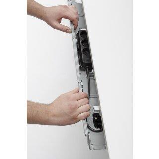 Kabelschublade 820 mm für Traversen bis zu einer Höhe von 40 mm