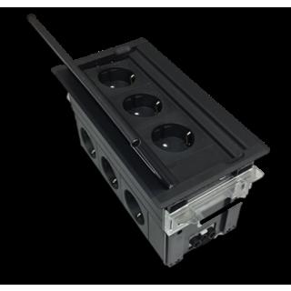Kompakt XL Tischanschlußfeld mit Extrapower (3P/6P)