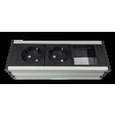 Universal Steckdosenleiste UPD - 1M2P1E