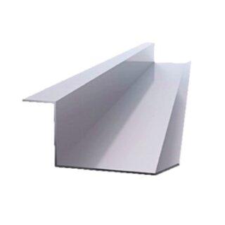 Kabelwanne inkl. 3 Befestigungsöffnungen für Schrauben, Stahlblech  1000 mm alusilber