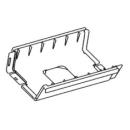 Einzelelement Polymer-Kunststoff, einzeln zusammensteckbar 200 mm grau