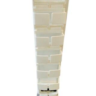 Kabelkette 40 cm, weiß